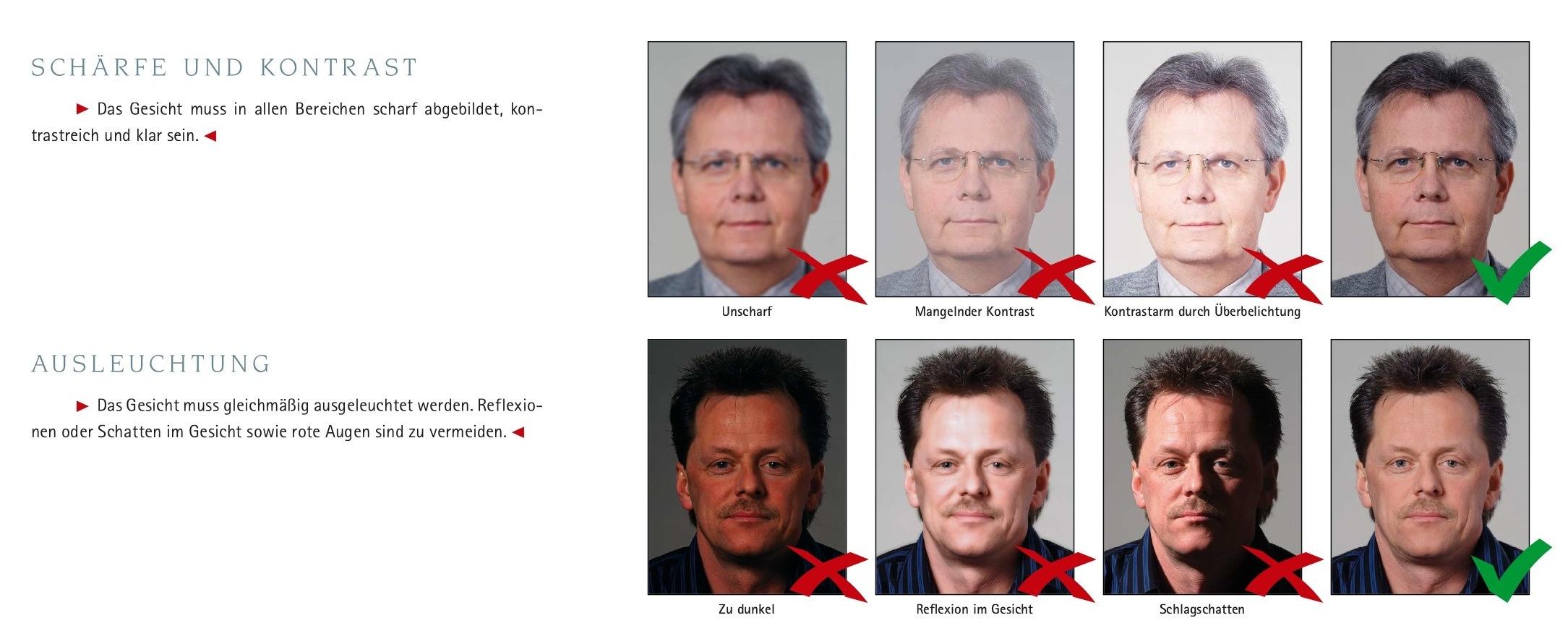 шенген требования к фото на визы